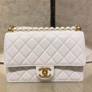 66914c7c3c329d CHANEL Bags | Ss19 Pearl Chain Flap Bag | Poshmark